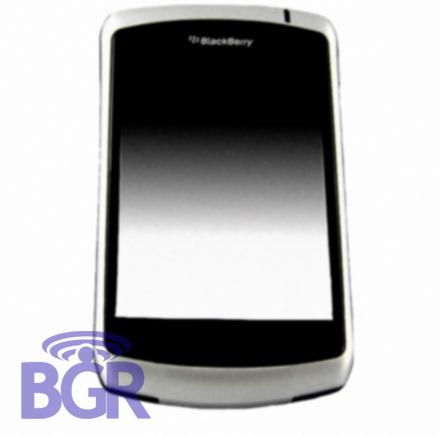 BlackBerry 9000 with touchscreen (c) Boy Genius