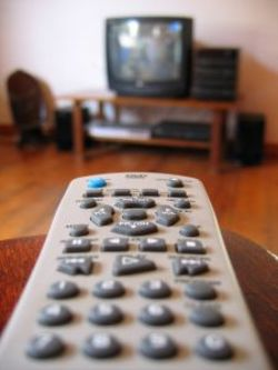 TV remote on standby