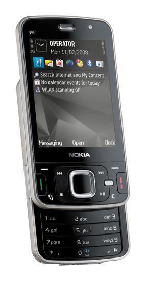 A Nokia N96 yesterday
