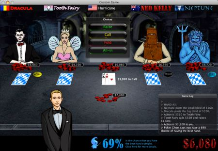 Imagine Poker Mac for iPhone and iPod Touch