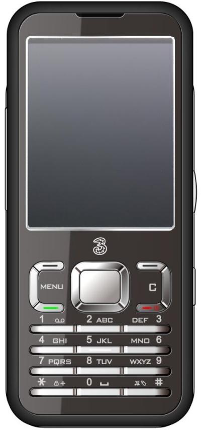 3 Skype S2 mobile phone handset