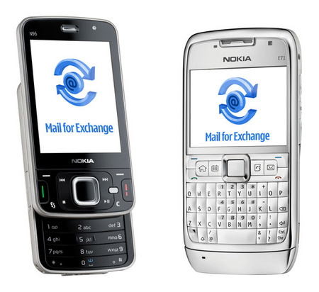 Nokia S60 range kitted out with Microsoft Exchange access