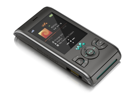 Sony Ericsson W595 Walkman Phone in Jungle Grey