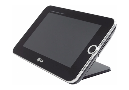 LG DP391B portable DVD player