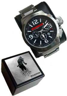 Metal Gear Solid 4 wrist watch