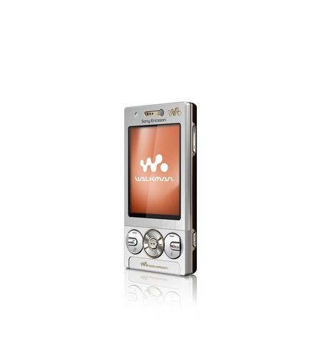 Sony Ericsson W705 silver mobile phone handset