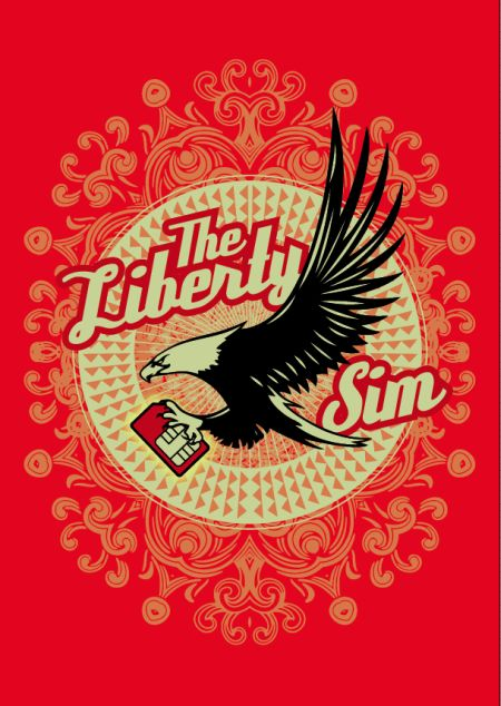 Virgin Mobile Liberty Sim logo