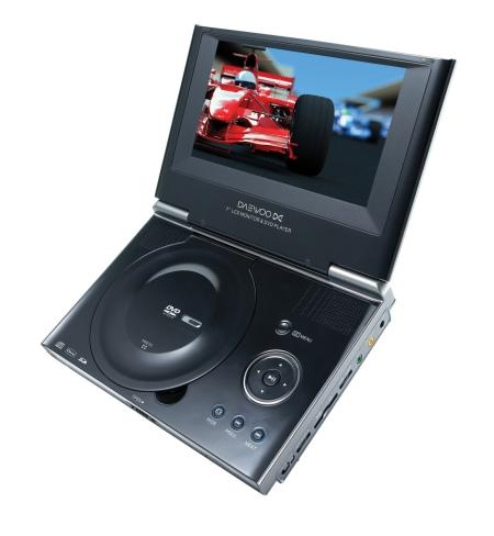 Daewoo DPC-7209PD portable DVD player