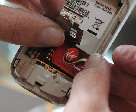 Virgin Mobile sim card