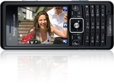 The Sony Ericsson C510 Cyber-shot phone will be the first to include the new technology