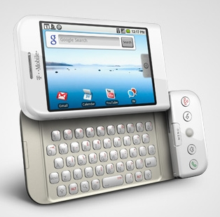 Google Android G1 phone on T-Mobile