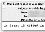 Dirty bomb malicious code spam campaign PC Southampton Bristol London