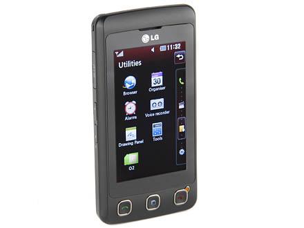 LG Cookie KP500 mobile phone handset