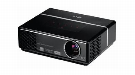 LG first UK portable projector HS102
