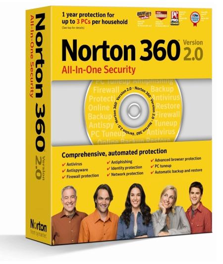 Symantec Norton 360 all-in-one-security 2.0