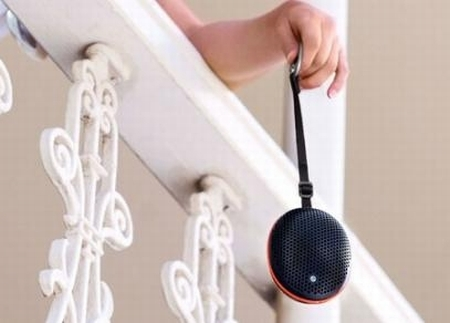Sony Ericsson Outdoor Wireless Speaker MS500 music outside
