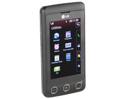 LG Cookie KP500 mobile phone handset
