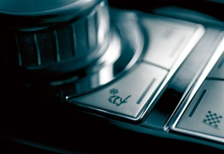 Jaguar XF drive selector