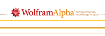 Wolfram Alpha computation knowledge engine logo