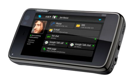 Nokia_N900_front_screen_maemo_5