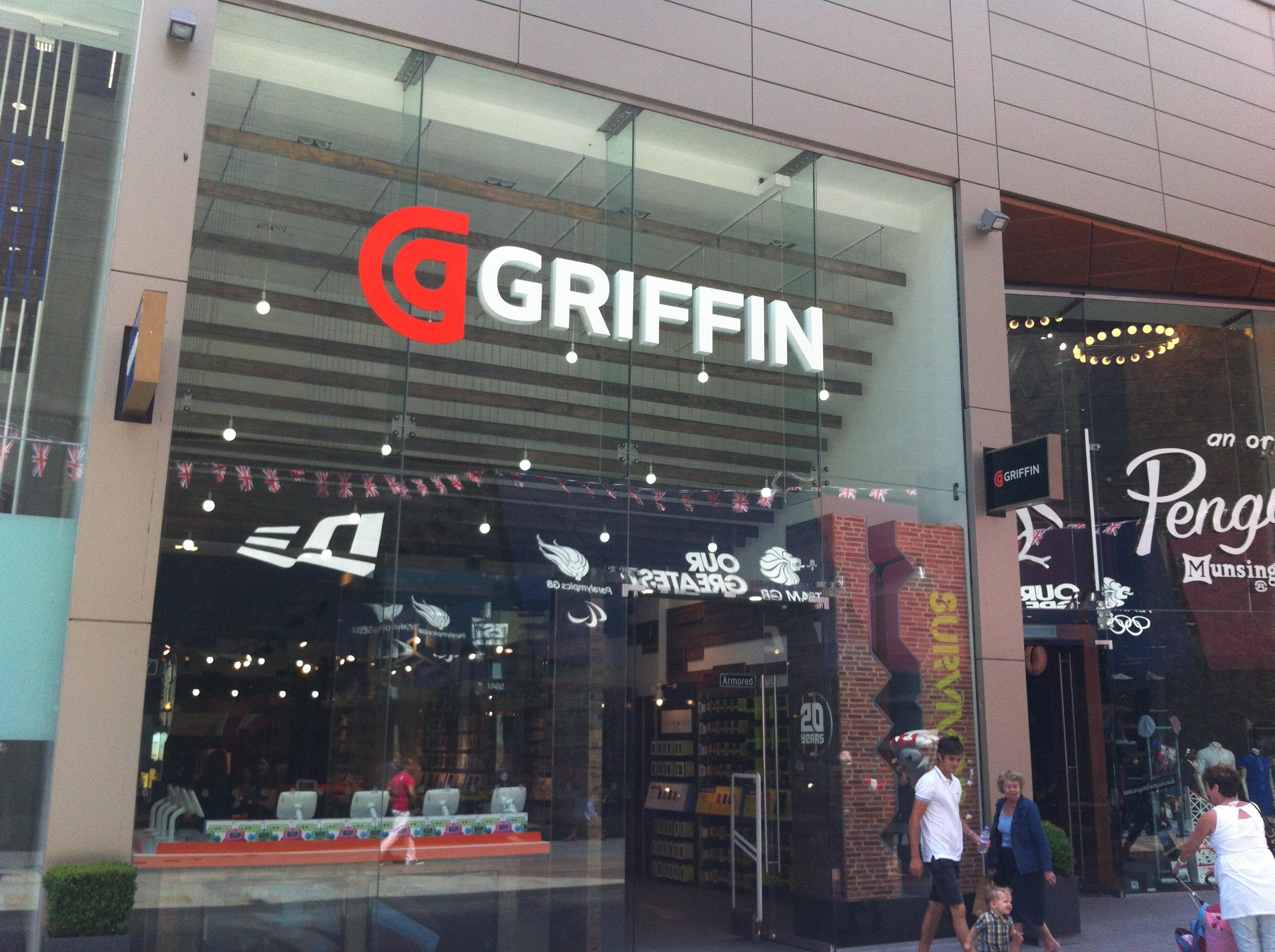 Griffin store in Westfield, Stratford