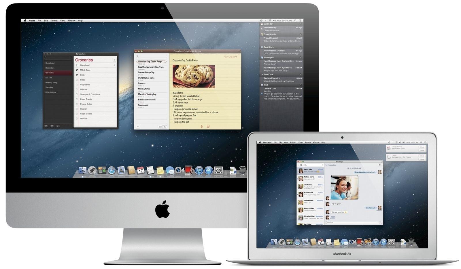 Mountain Lion OS X on Mac