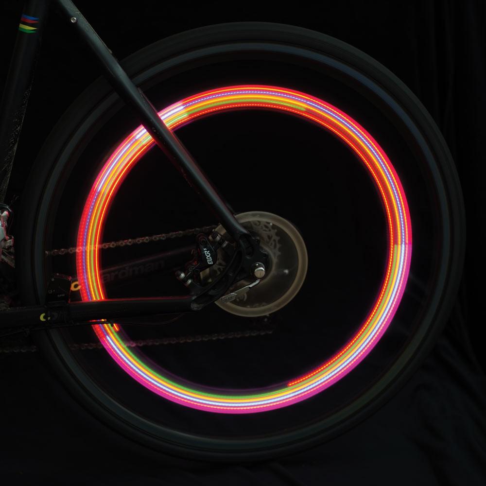 colour changing bike wheel lights